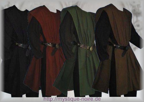 Medieval Surcoat Harold - Mystique Noire Gothic Shop